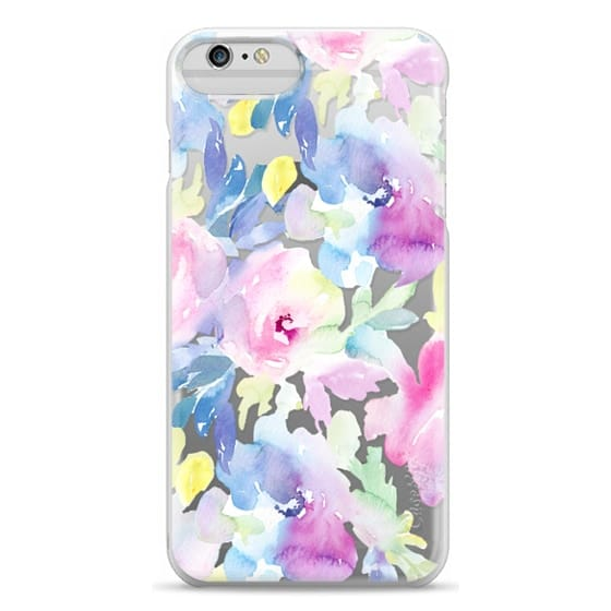 iPhone 6 Plus Cases - Wild n Loose Watercolor Floral