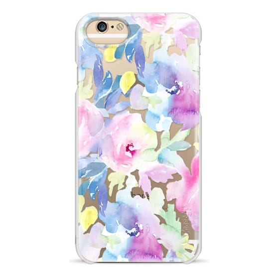 iPhone 6 Cases - Wild n Loose Watercolor Floral