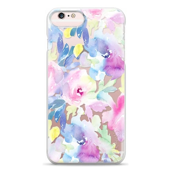 iPhone 6s Plus Cases - Wild n Loose Watercolor Floral