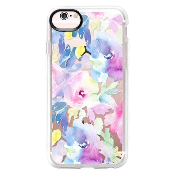 iPhone 6s Cases - Wild n Loose Watercolor Floral