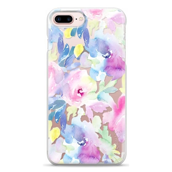 iPhone 7 Plus Cases - Wild n Loose Watercolor Floral