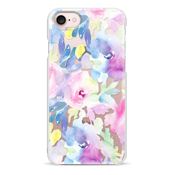 iPhone 7 Cases - Wild n Loose Watercolor Floral