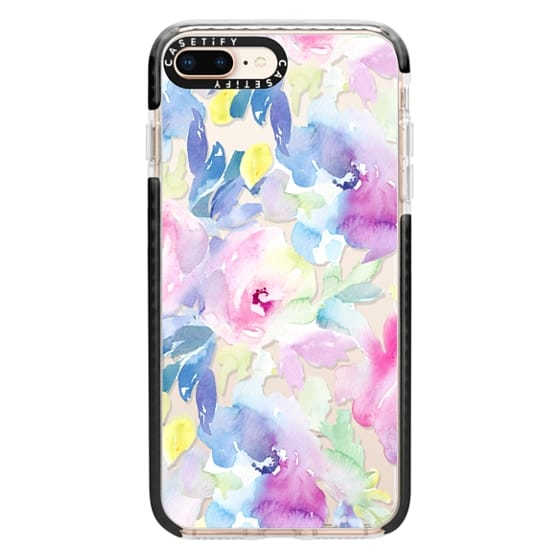 iPhone 8 Plus Cases - Wild n Loose Watercolor Floral