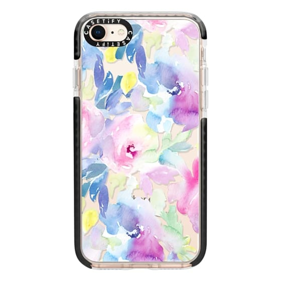 iPhone 8 Cases - Wild n Loose Watercolor Floral