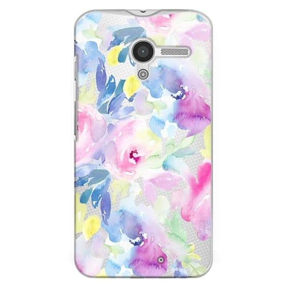 Moto X Cases - Wild n Loose Watercolor Floral