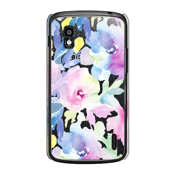 Nexus 4 Cases - Wild n Loose Watercolor Floral