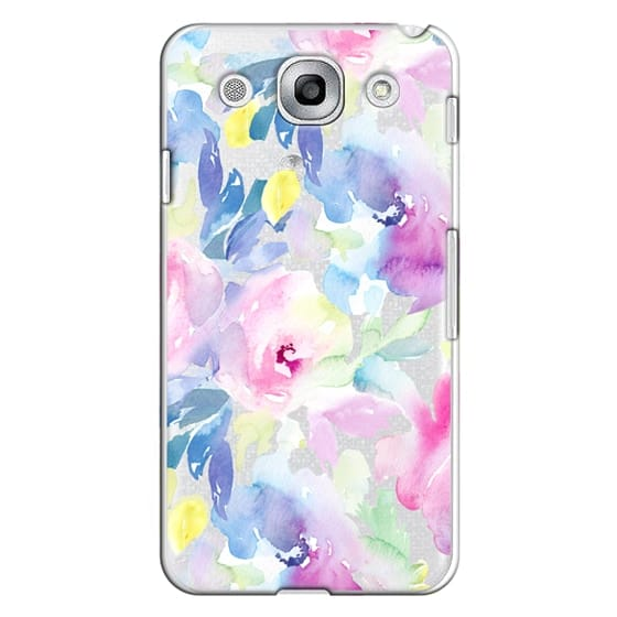 Optimus G Pro Cases - Wild n Loose Watercolor Floral