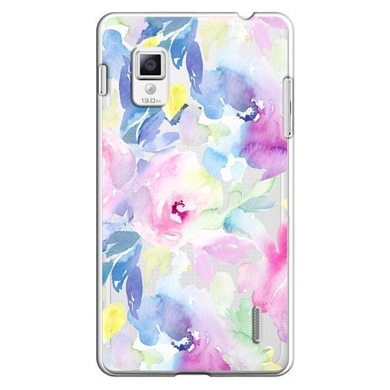 Optimus G Cases - Wild n Loose Watercolor Floral