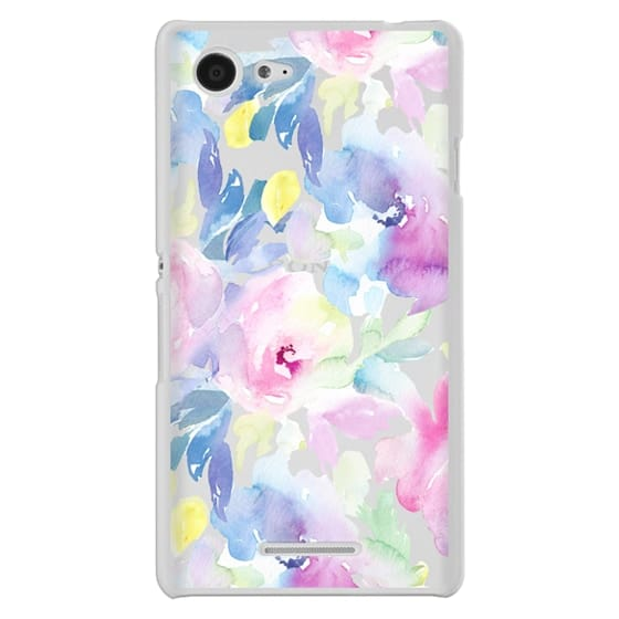 Sony E3 Cases - Wild n Loose Watercolor Floral