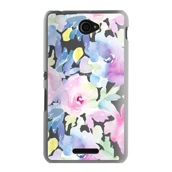Sony E4 Cases - Wild n Loose Watercolor Floral