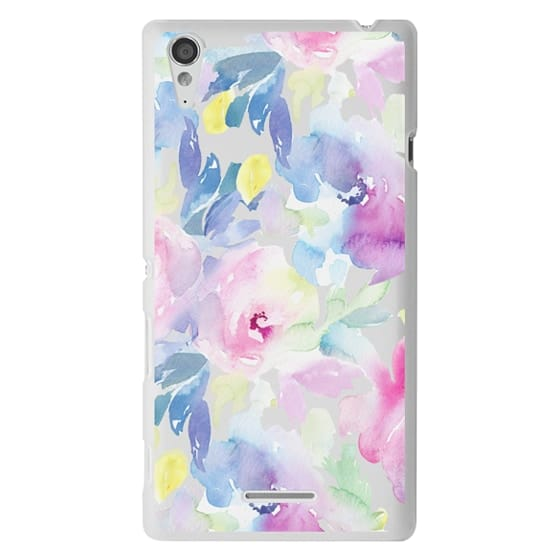 Sony T3 Cases - Wild n Loose Watercolor Floral
