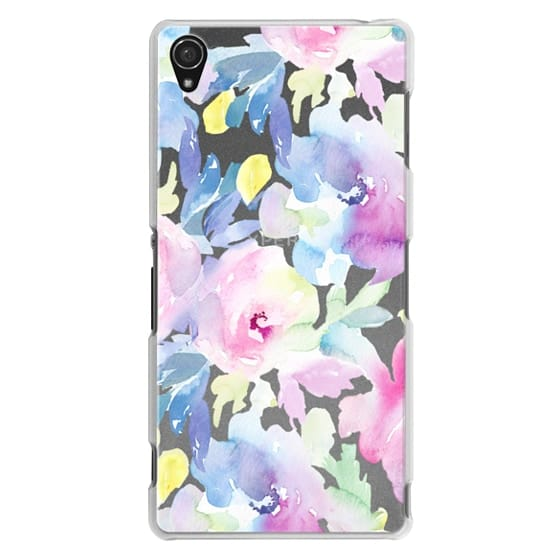 Sony Z3 Cases - Wild n Loose Watercolor Floral