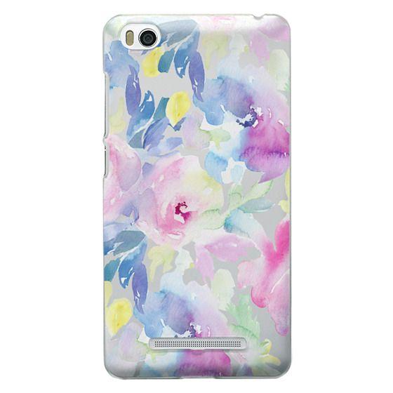 Xiaomi 4i Cases - Wild n Loose Watercolor Floral
