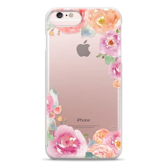 iPhone 6s Plus Cases - Pretty Watercolor Flowers Painted Design