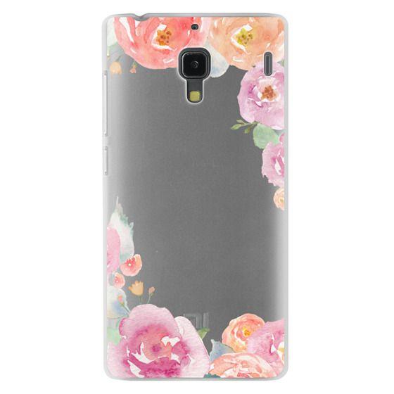 Redmi 1s Cases - Pretty Watercolor Flowers Painted Design