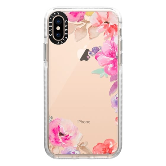 iPhone XS Cases - Cute Watercolor Flowers Iphone Case