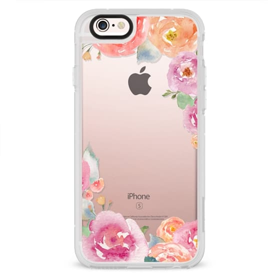 iPhone 6s Cases - Pretty Watercolor Flowers Painted Design