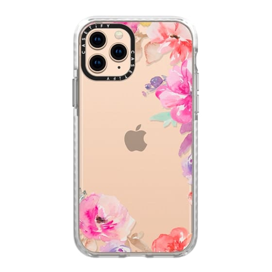 iPhone 11 Pro Cases - Cute Watercolor Flowers Iphone Case