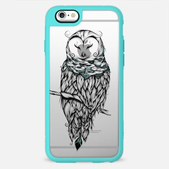Poetic Snow Owl -