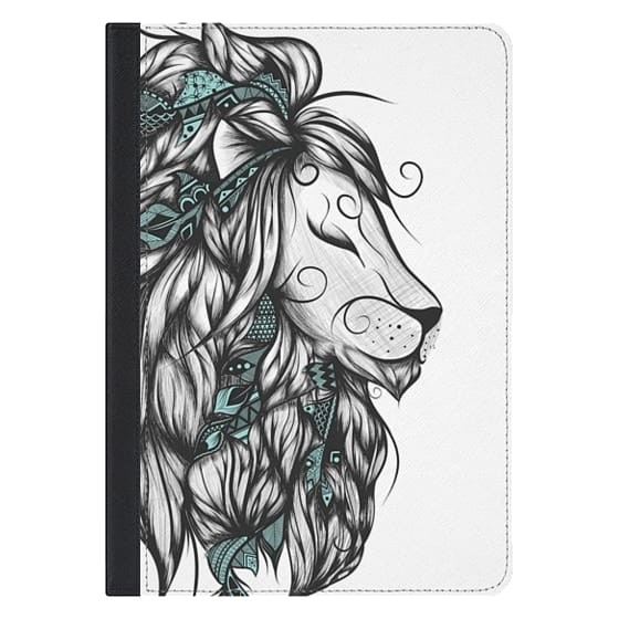 10.5-inch iPad Pro Covers - Poetic Lion Turquoise