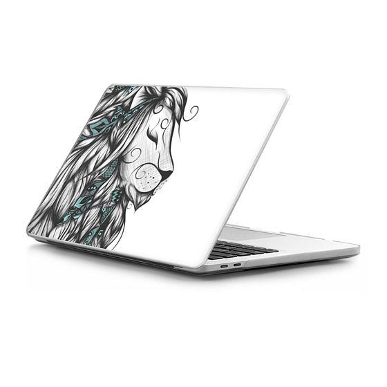 MacBook Pro Touchbar 13 Sleeves - Poetic Lion Turquoise