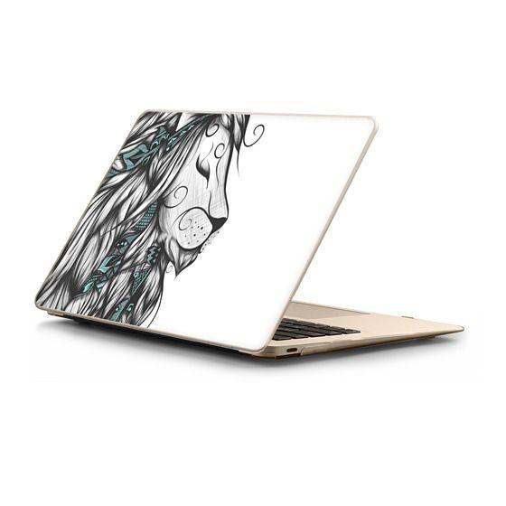 MacBook 12 Sleeves - Poetic Lion Turquoise