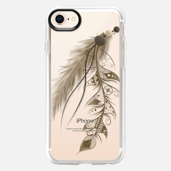 Bohemian Feather  - Snap Case