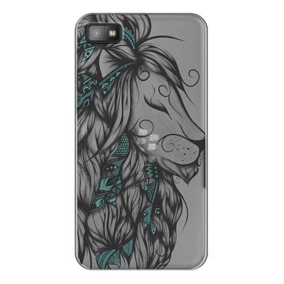 Blackberry Z10 Cases - Poetic Lion Turquoise