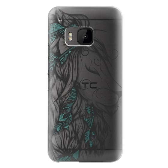 Htc One M9 Cases - Poetic Lion Turquoise