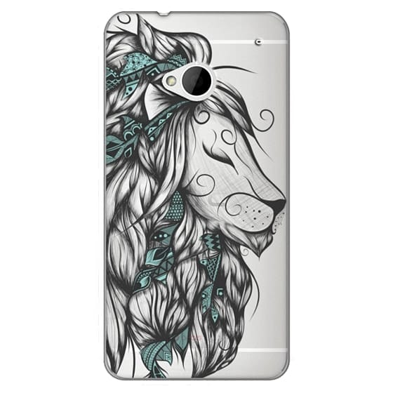 Htc One Cases - Poetic Lion Turquoise