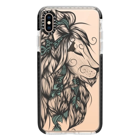 iPhone XS Max Cases - Poetic Lion Turquoise