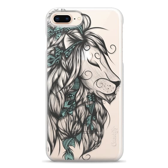iPhone 8 Plus Cases - Poetic Lion Turquoise