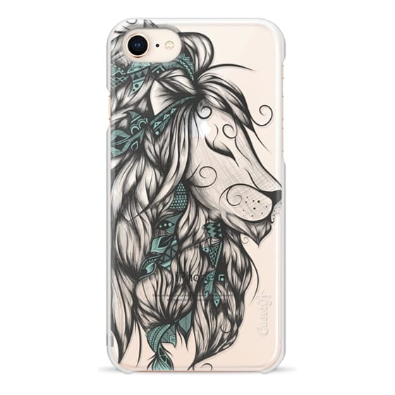 iPhone 8 Cases - Poetic Lion Turquoise