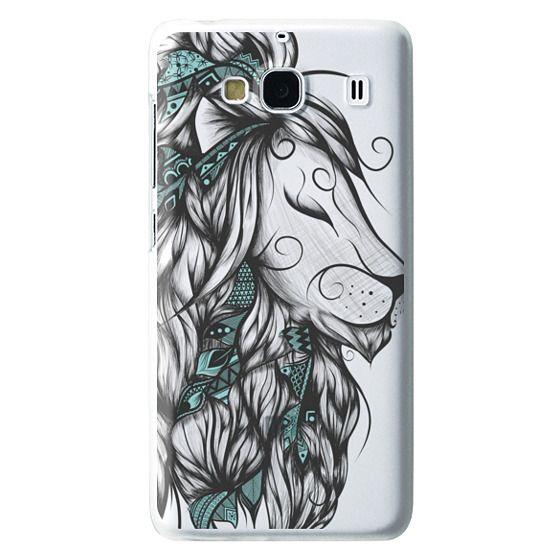 Redmi 2 Cases - Poetic Lion Turquoise