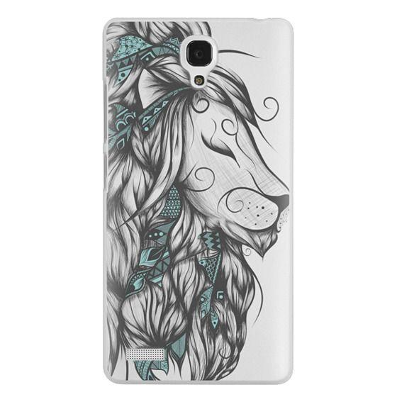 Redmi Note Cases - Poetic Lion Turquoise