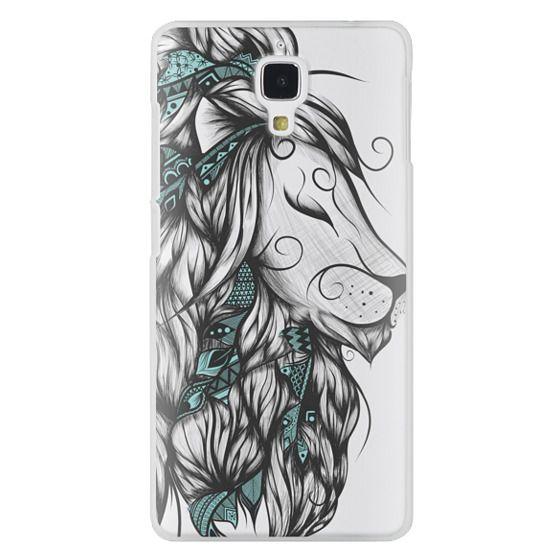 Xiaomi 4 Cases - Poetic Lion Turquoise