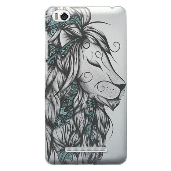 Xiaomi 4i Cases - Poetic Lion Turquoise
