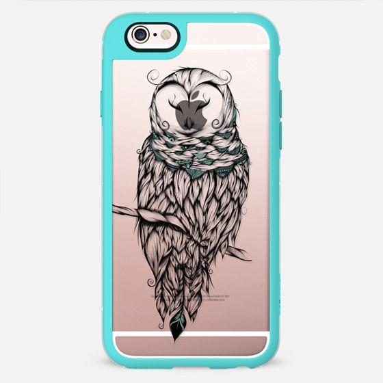 Poetic Snow Owl -