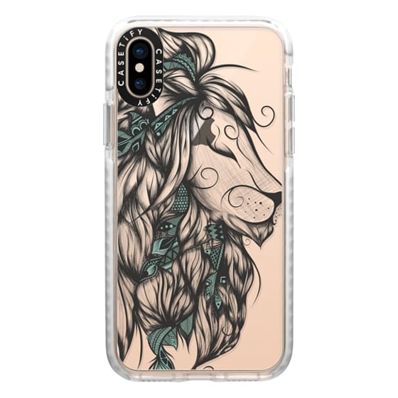 iPhone XS Cases - Poetic Lion Turquoise