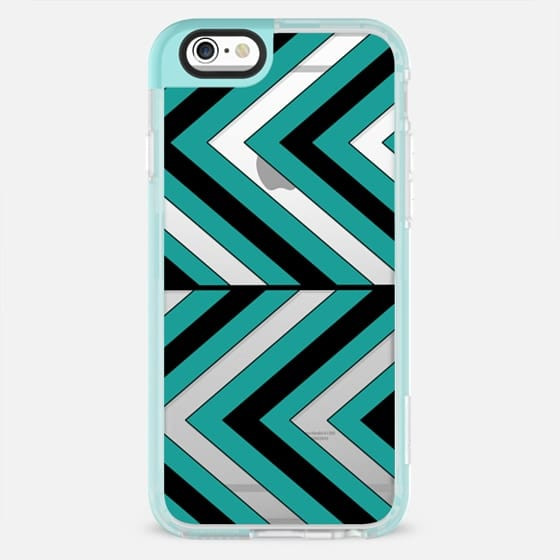 Pattern Turquoise 1 - New Standard Pastel Case