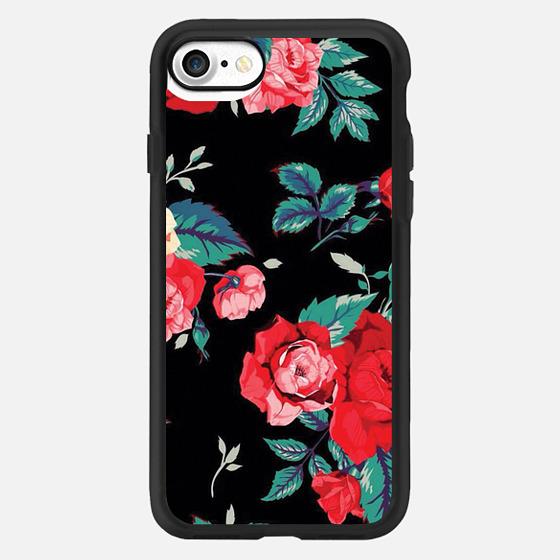 Floral case -