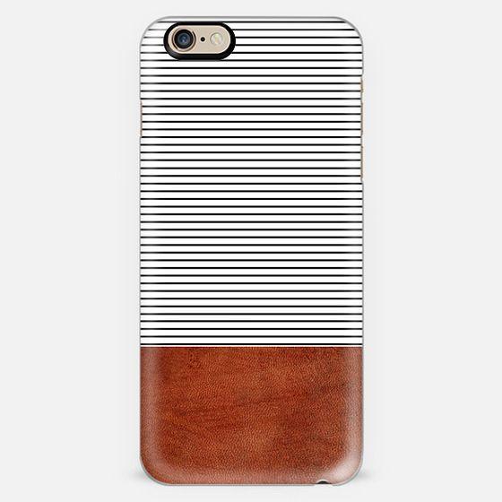Stripes leather pattern -