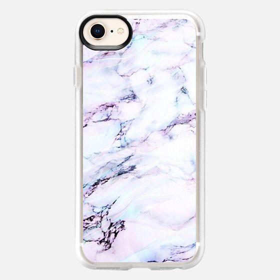 Amethyst marble love - Snap Case