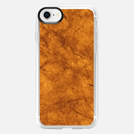 Brown love marble - Snap Case
