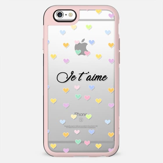 Je T'aime - New Standard Case