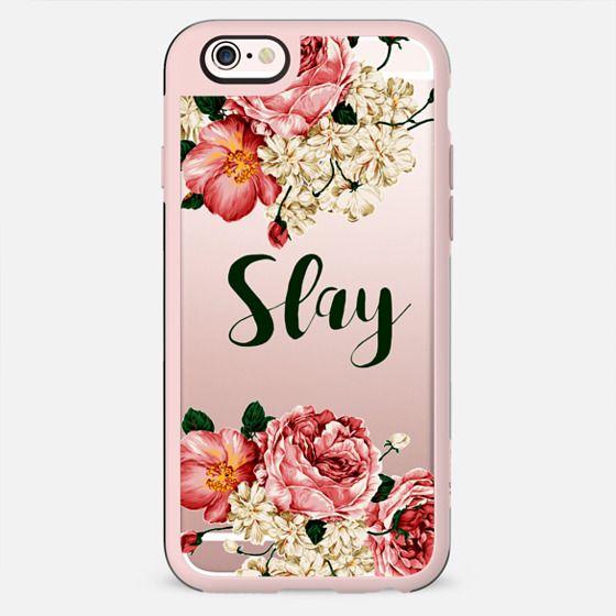 Slay Floral case - New Standard Case