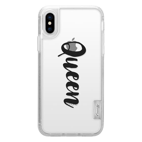 free shipping 0c234 5c694 Classic Grip iPhone X Case - Queen girl boss case