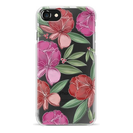 iPhone 7 Plus Cases - Tropical Flowers