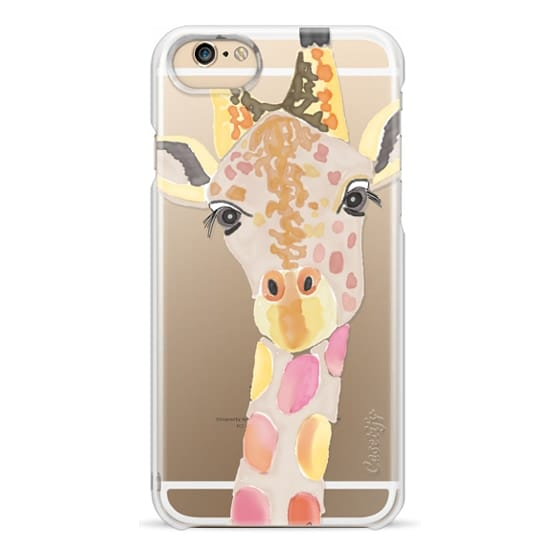 iPhone 6s Cases - Giraffe In Pink