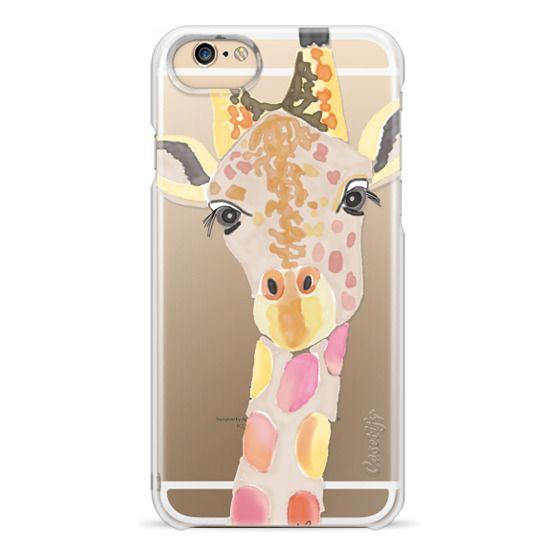 iPhone 6 Cases - Giraffe In Pink